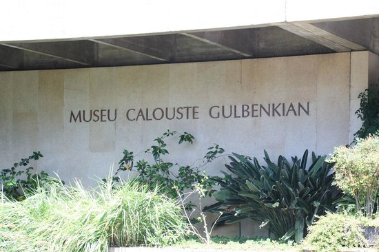 Museo Calouste Gulbenkian: The entrance