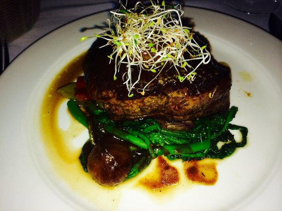 Luci Restaurant : My filet... the picture doesn't do it justice. The glaze on top was amazing too!