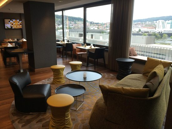 Sheraton Zürich Hotel: Club Lounge
