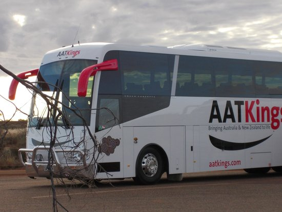 Desert Gardens Hotel, Ayers Rock Resort : Great Bus Company !!!