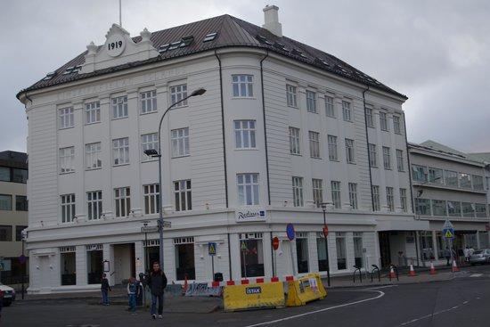 Radisson Blu 1919 Hotel, Reykjavik: Street view
