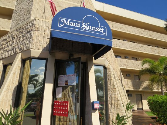 Maui Sunset Condos: Maui Sunset - main office