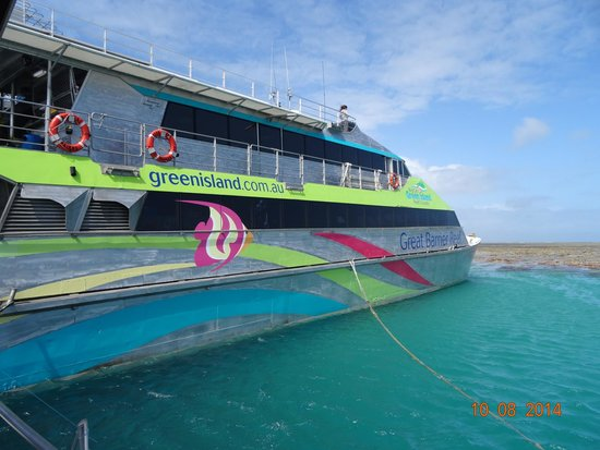 Green Island Cruise - Day Tour (Big Cat Green Island Reef Cruise): Big Cat- Lunch is served here.
