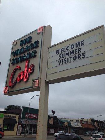 Village Square Resturant: Visitors welcome
