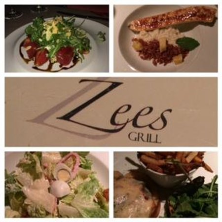 Zees Grill: Great terrace, good food!