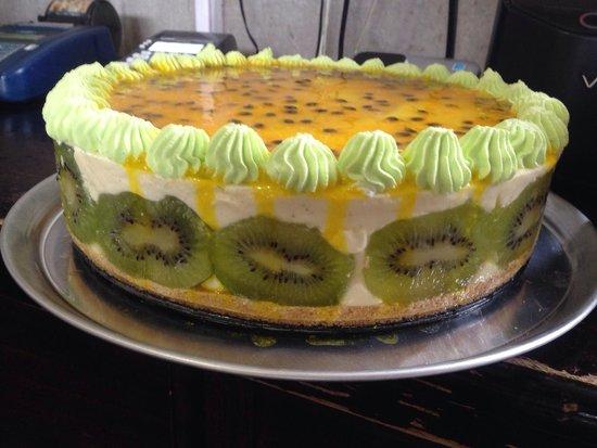 Rain Forest Cafe y Restaurant: Delicioso chesse cake de maracuya..