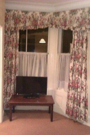 Rivelyn Hotel : TV and Windows