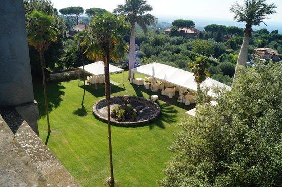 Park Hotel Villa Grazioli: Outside dining