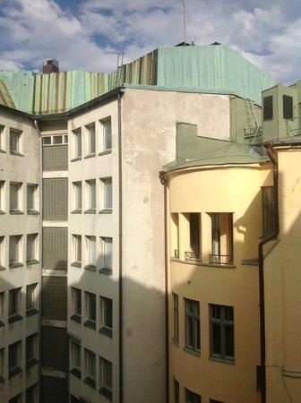 Arthur Hotel: courtyard