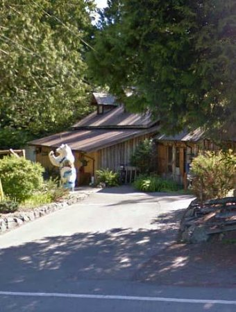 The Sooke Region Museum : Outside Sooke Info Centre & Gift Shop