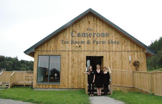 Camerons Tea Room Foyers, Loch Ness