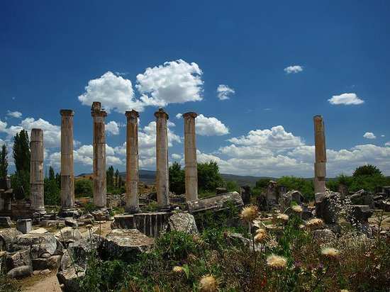 Aphrodisias : a part of the Temple of Aphrodite
