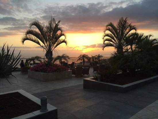 Holiday Village Tenerife: sunset