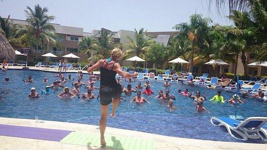 Memories Splash Punta Cana: Staying fit