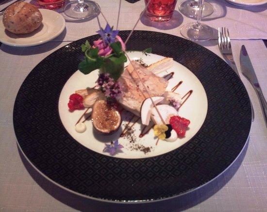 Restaurant Klauss: Menu Saveur - Entrée: Pressé de volaille au foie gras