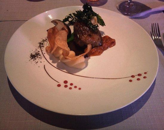 Restaurant Klauss: Menu Saveur - Plat: Magret de canard