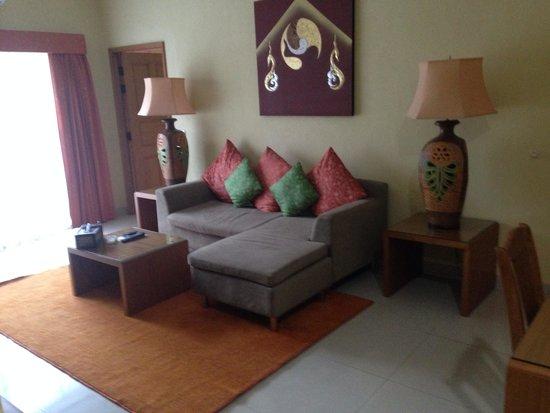Baan Souy Resort: Living room area