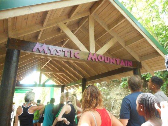 Rainforest Adventures Jamaica: Mystic Mountain Sign