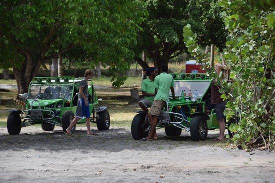 Sugar Beach, A Viceroy Resort: The Adventure Tour buggies