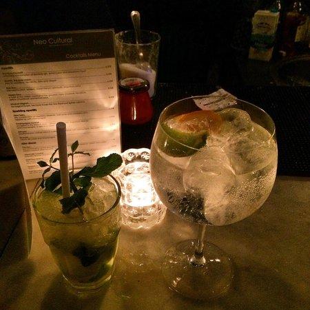 Neo Cultural: Mojito e Gin tonic!! Super!!