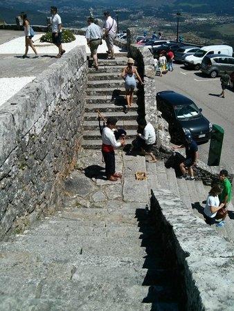 Poblado celta de Santa Tecla: Walls