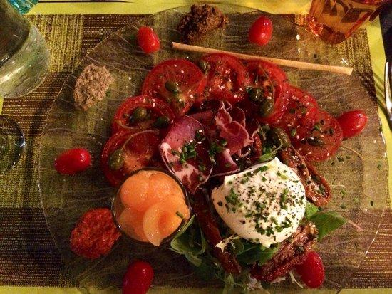 Restaurant L'Alpin: Une très bonne salade italienne