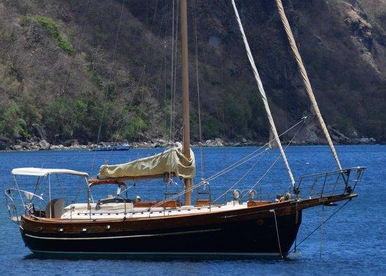 Sugar Beach, A Viceroy Resort: The Manatee Sloop (sailboat)