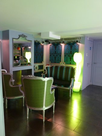 Hotel Design Sorbonne : lobby
