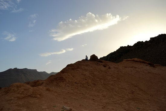 Top Desert: That is me on top!
