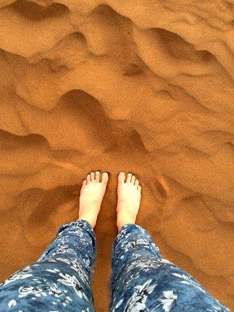 Top Desert: Love the Sahara sand!