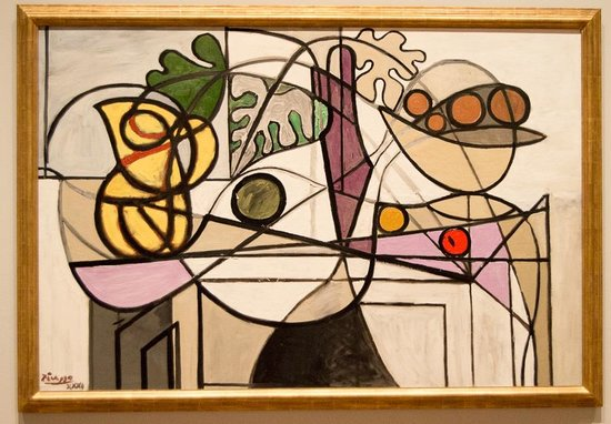 Saint Louis Art Museum : Picasso - 1931 - Pitcher and The Fruit.