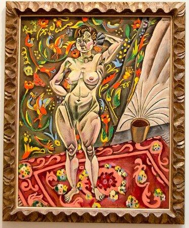 Saint Louis Art Museum: Joan Miró - Nude - 1918