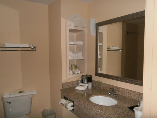 Holiday Inn Express Hotel & Suites Quincy I-10: Bathroom of Room 111