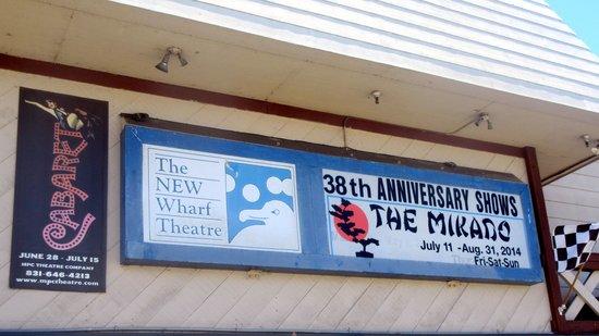 Bruce Ariss Wharf Theater, Old Fisherman Wharf, Monterey, Ca