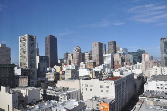 Hotel Nikko San Francisco: View from room 1901