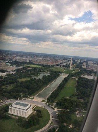 Washington Monument: vue d'avion
