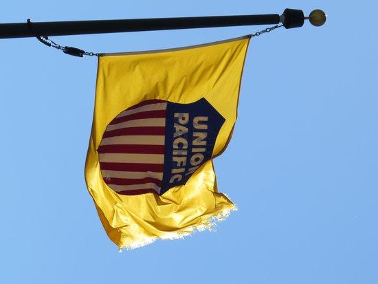 Union Pacific Railroad Bailey Yard: Union Pacific flag