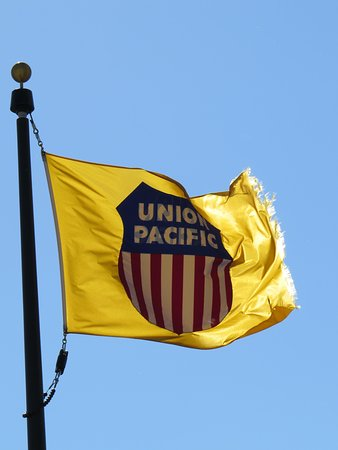 Union Pacific flag - Picture of Union Pacific Railroad