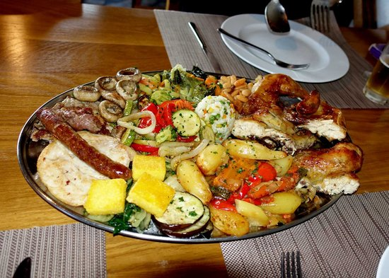 Plitvice Miric Inn: More than enough to eat!!!