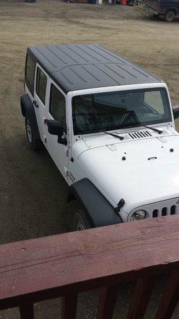Dredge No.7 Inn : Rental Jeep