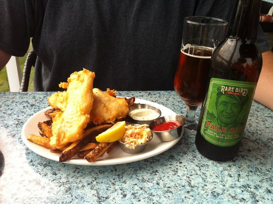 Rhubarb Restaurant: Fish & Chips