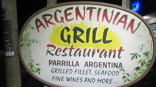 Argentinian Grill...