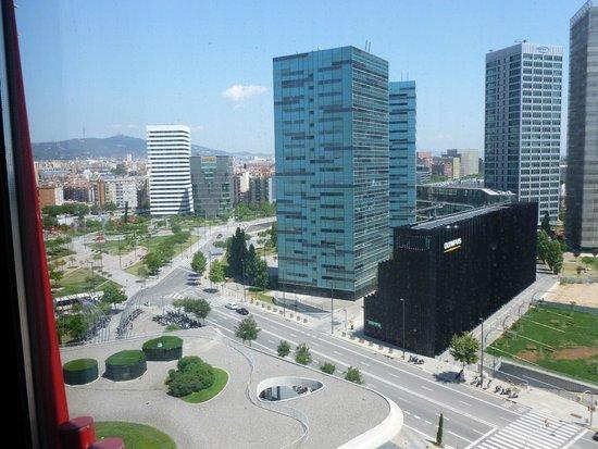 Hotel Porta Fira: vue