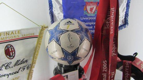 Anfield Stadium: istanbul ball 2005