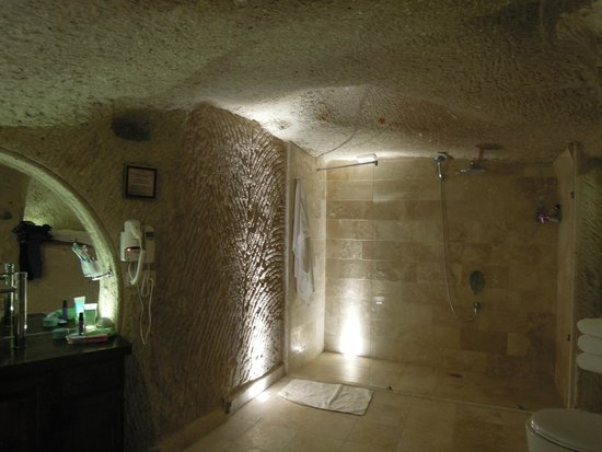 Erenbey Cave Hotel: Bathroom
