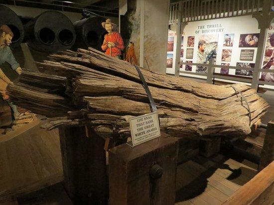 Arabia Steamboat Museum: The log that sank the Arabia