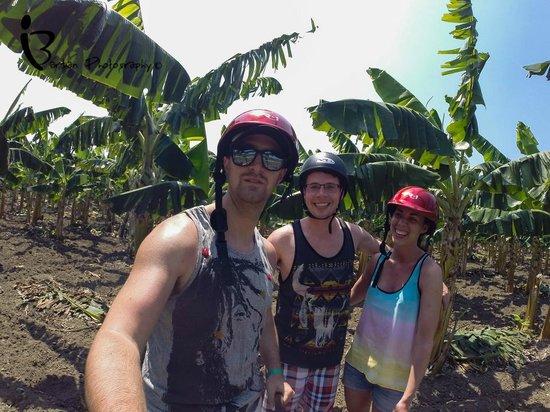 Hotel Playa Costa Verde: Scooter trip to banana plantation