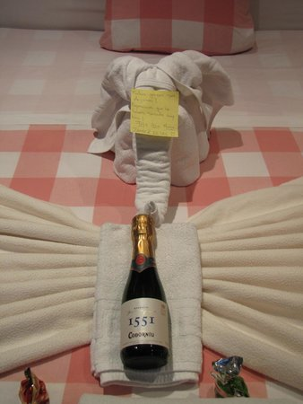 Hostal Madrid Inn: Presentinhos de Ano Novo
