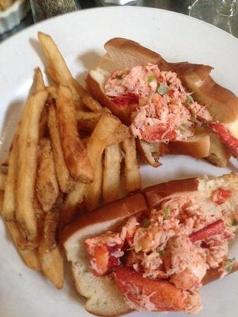 Striper Bites: one of the best lobster rolls ever.