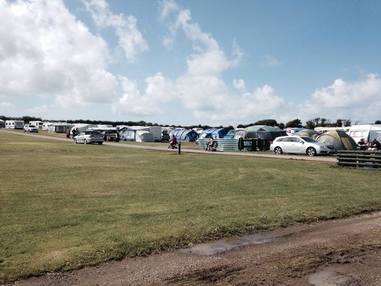 Bude Holiday Resort: The campsite